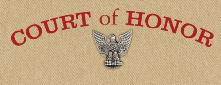 Court of honor troop 150 freehold nj for Eagle scout court of honor program template