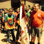 Troop 108 and 109 combined to form Troop 217 from Rock Mill, SC